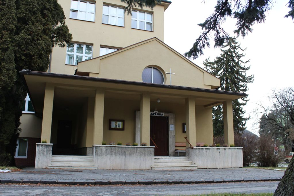 Nemocničná kaplnka Ružomberok, ulica Genenerála Miloša Vesela 04