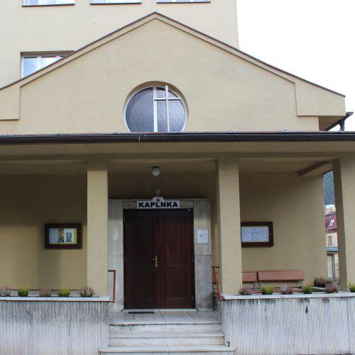 "Hospital Chapel of Ružomberok, at ""Generála Miloša Vesela"" Street"