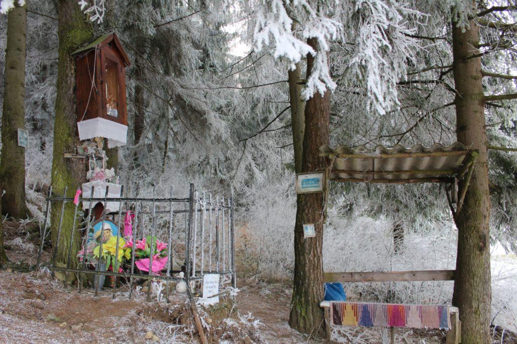 Zastavenie Liptovské Sliače - Stredný, pod lesom nad ulicou Horná Roveň 04