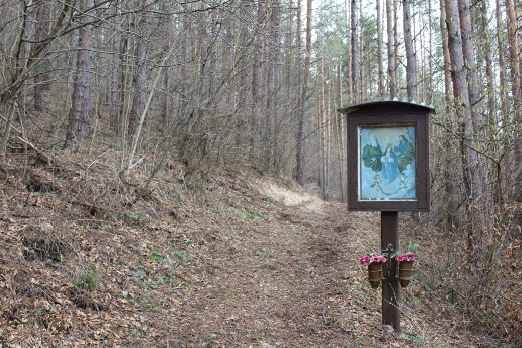 Zastavenie Valaská Dubová, pri krížovej ceste 05