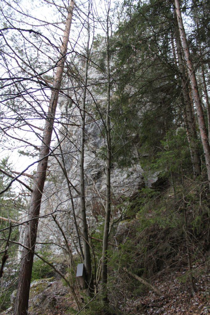 Zastavenie Vlkolínec, Pri Krkavej skale 05