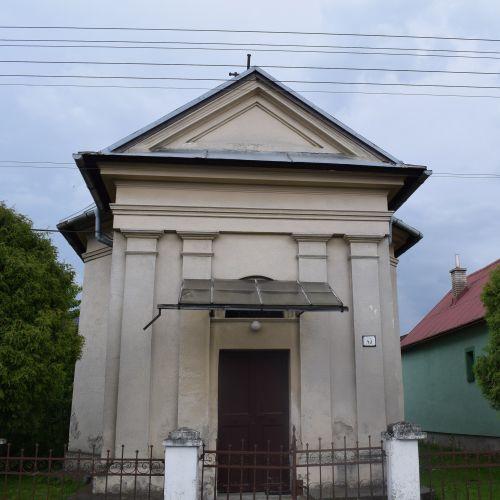 Chapel of Saint Ján Nepomucký in Ivachnová