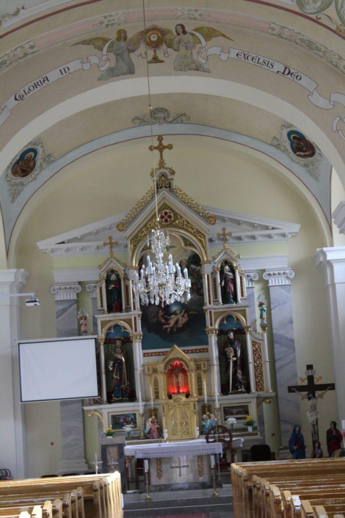 Kostol Najsvätejšej Trojice v Liptovskej Lúžnej 09