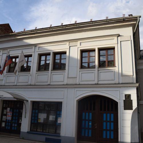 Memorial Townsmen House of the Makovicky Family