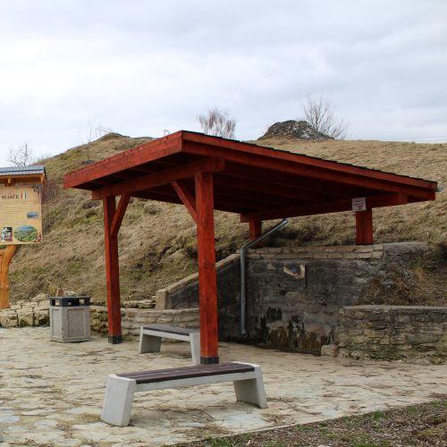 """Mineral spring """"Čertovica"""" (Teplica), Liptovské Sliače"""