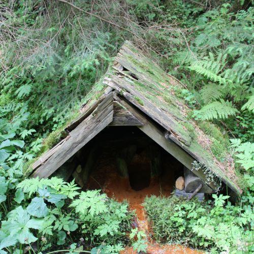 """Mineral spring """"Kadluba"""" in Banské, Liptovská Lúžna"""