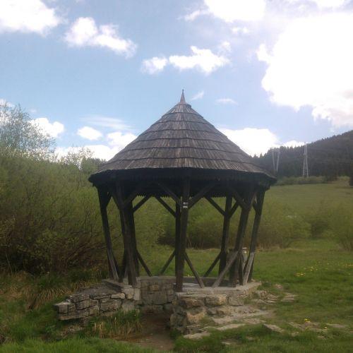 """Mineral spring """"Medokýš"""", Ludrová"""