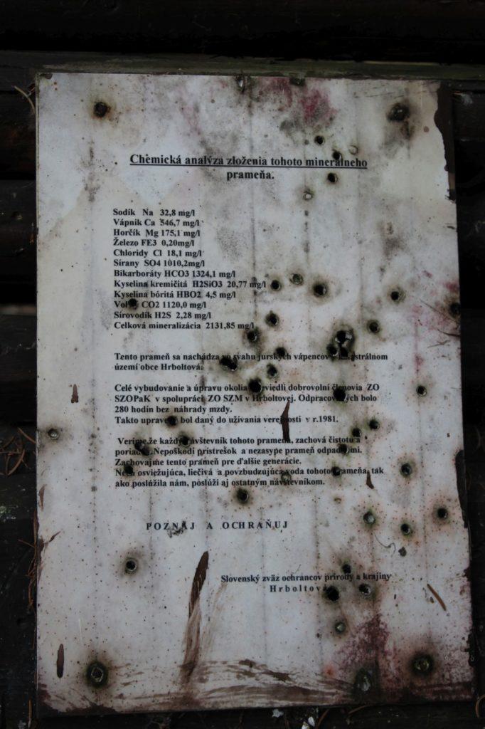 Minerálny prameň Medokýš, Ružomberok - Hrboltová 05