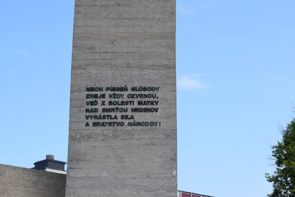Pamätník Partizánska matka 02