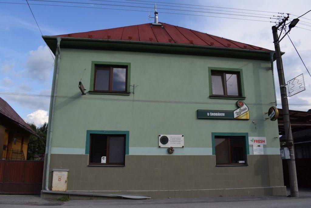 Rodný dom Vavra Šrobára v Liskovej 01