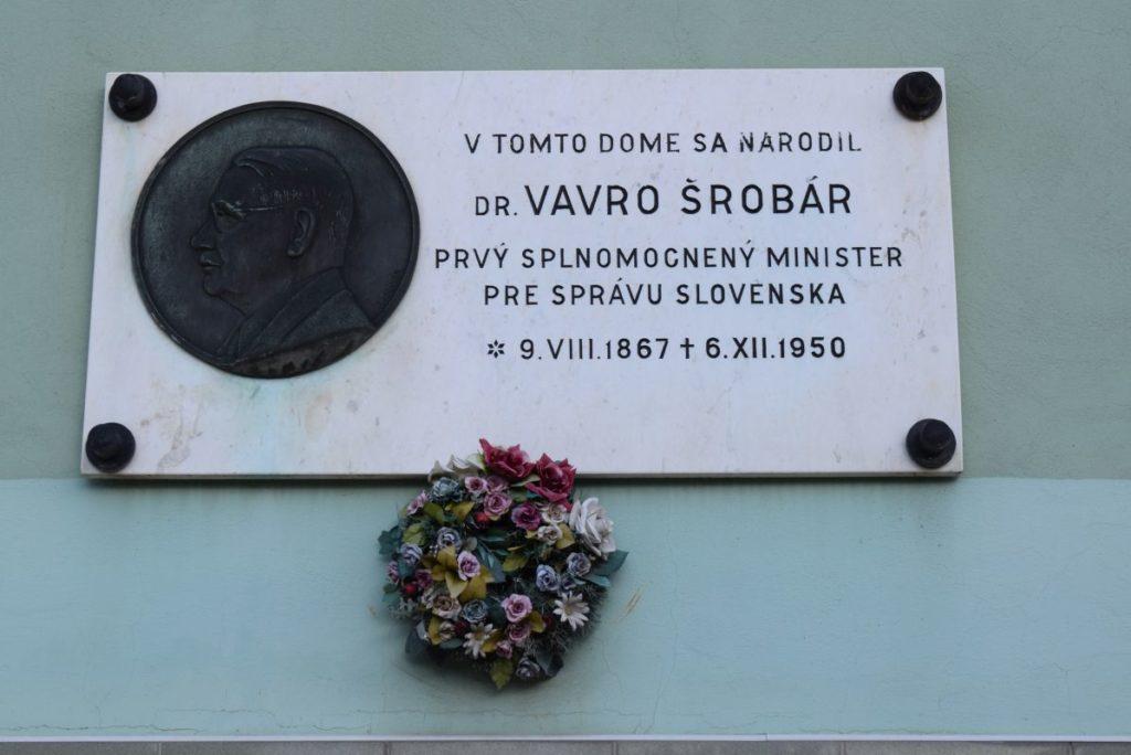 Rodný dom Vavra Šrobára v Liskovej 03