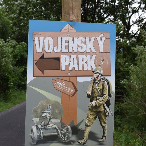 Military Park in Biely Potok