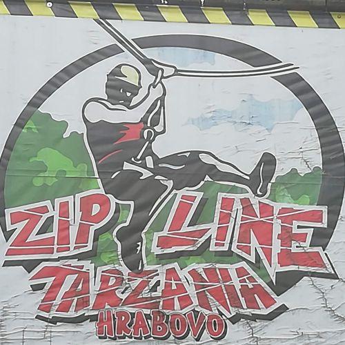 Zip Line in Hrabovo